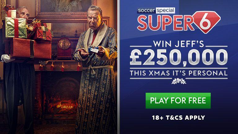 Super 6 Midweek £250K