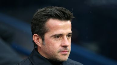 Marco Silva was left frustrated with Everton's finishing