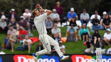 Neil Wager sat out the third Test victory over Pakistan earlier this month