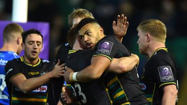 Northampton Saints were among the winning teams in this weekend's European Challenge Cup