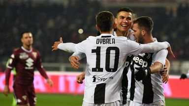Cristiano Ronaldo second-half penalty secure Juventus victory in the Turin derby
