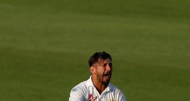 Shah who dropped Williamson twice now has 27 wickets in the series