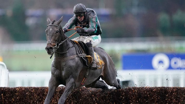 Altior - only three rivals at Ascot
