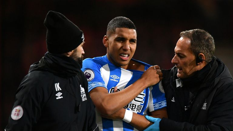 Abdelhamid Sabiri broke his collarbone against Bournemouth on Tuesday