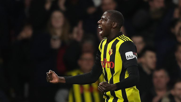 Abdoulaye Doucoure rescued a draw for Watford against Newcastle on Saturday