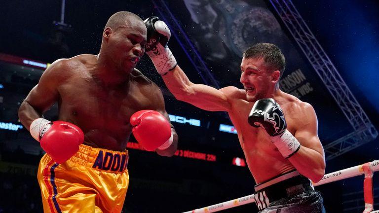 Stevenson lost his WBC light-heavyweight title to Oleksandr Gvozdyk on Saturday
