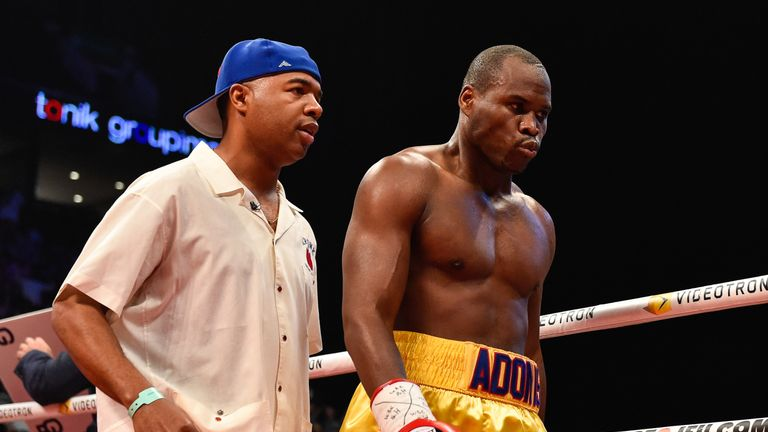 Adonis Stevenson is now in a stable condition in hospital, according to his promoter Yvon Michel