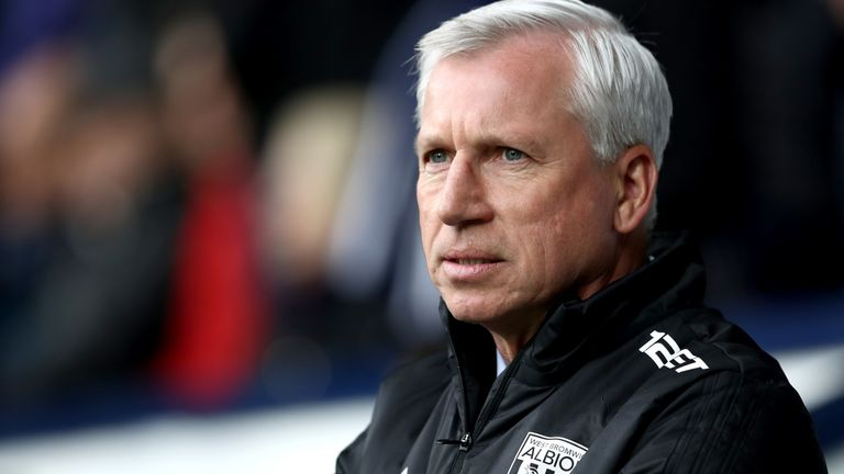Alan Pardew has been out of management since departing West Brom