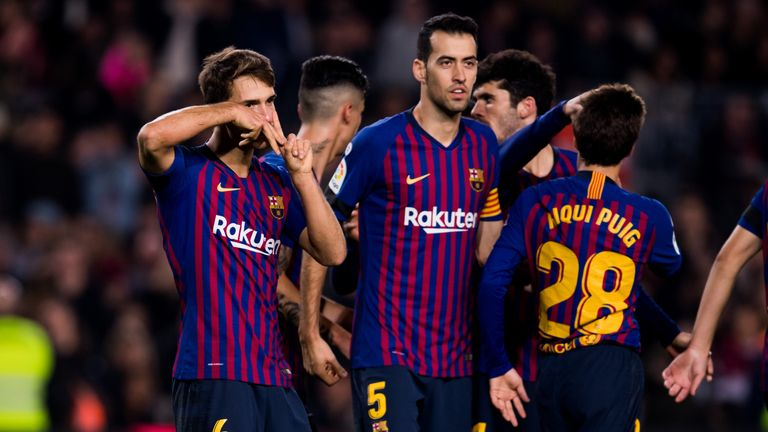 Barcelona cruised through in the Copa del Rey
