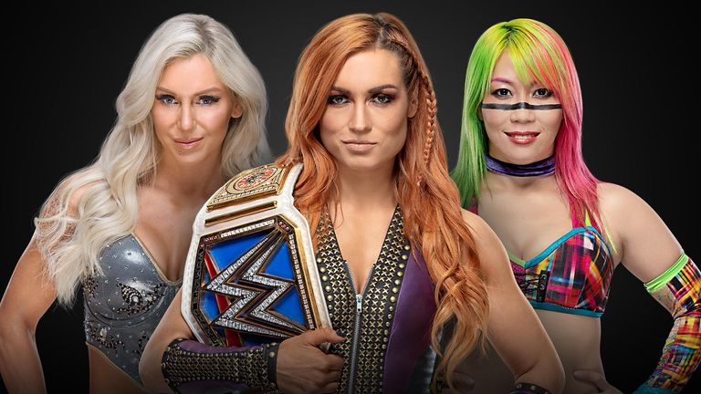 Becky Lynch is due to defend her SmackDown title against both Charlotte Flair and Asuka at TLC