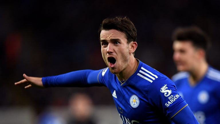 Ben Chilwell has played every minute for Leicester in the Premier League this season