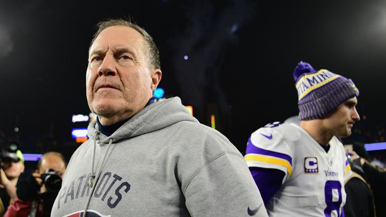 Bill Belichick has won seven Super Bowl titles, two as a defensive coordinator and five as head coach