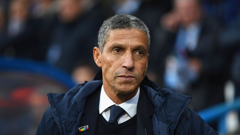 Chris Hughton was sacked as Brighton manager on Monday