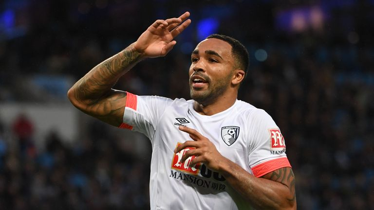 Callum Wilson has already matched his league tally from last season with eight goals