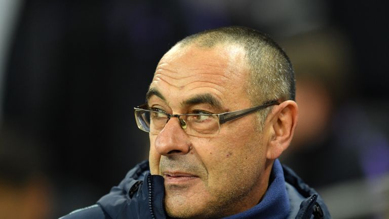 Maurizio Sarri wants his side to kick on from their win over champions Manchester City
