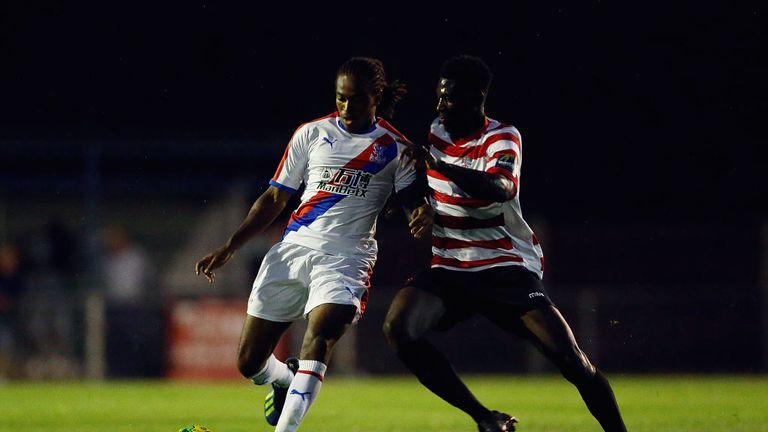 Palace youngster Francis Baptiste is close to a move to Sweden