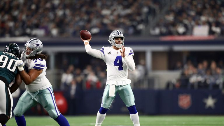 Dak Prescott, Dallas Cowboys