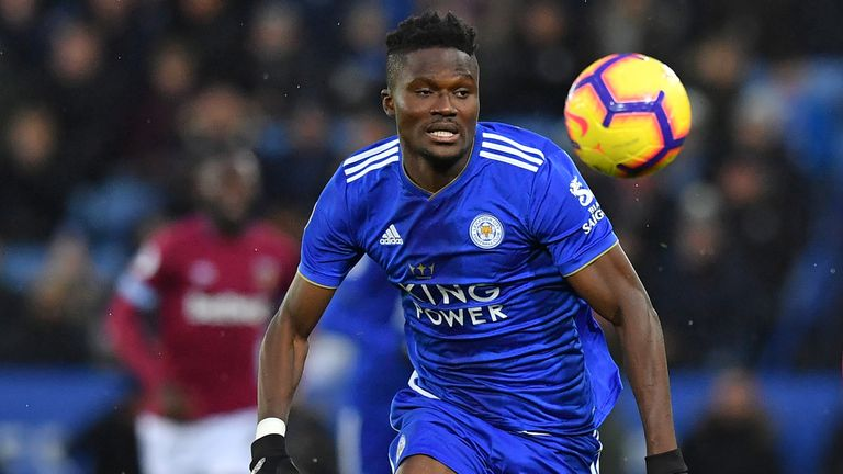 Daniel Amartey remains sidelined with a leg injury