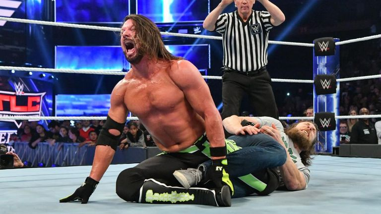 AJ Styles lost his WWE title in 2018 but still came in third in the viewer voting