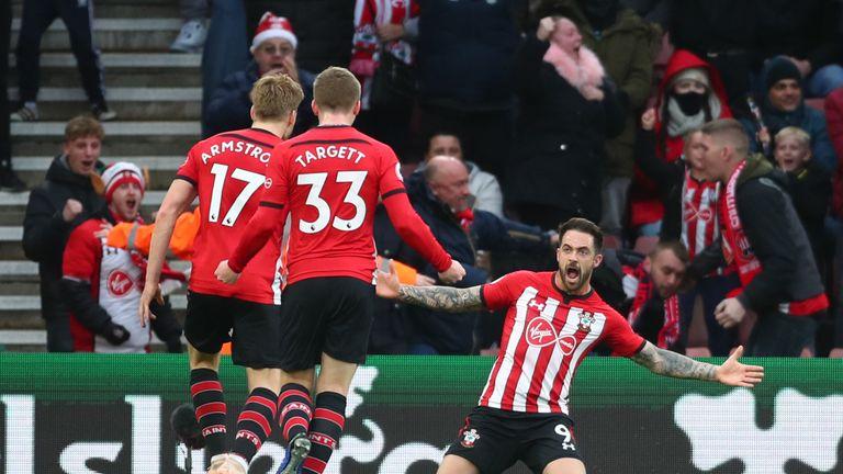 Danny Ings zaznamenal v duelu proti Arsenalu dvě branky (zdroj: skysports.com)