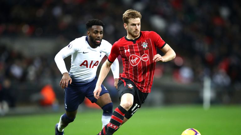 Hasenhuttl saw Southampton lose to Tottenham on Wednesday