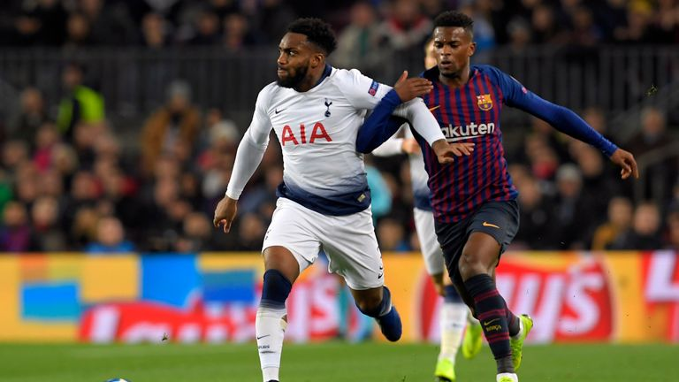 Danny Rose was a key figure in Tottenham's draw against Barcelona