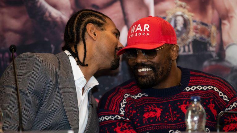 Chisora vs Gashi: Derek Chisora reveals how David Haye gave simple response to Dillian Whyte defeat | Boxing News |
