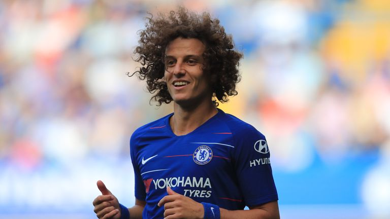 David Luiz is in his second spell at Chelsea