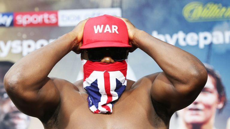 Chisora will hit the scales ahead of Whyte