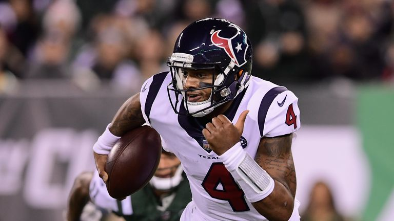 Deshaun Watson is leading the Texans into the playoffs in only his second NFL season