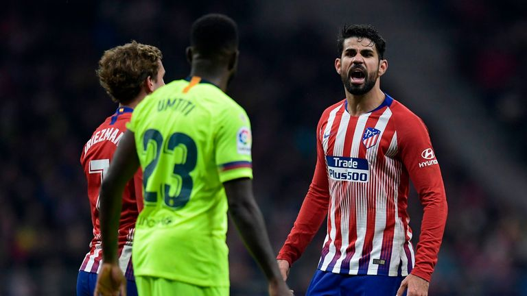 Diego Costa returned to Atletico Madrid in 2017