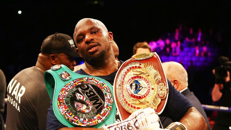 Dillian Whyte is working towards a fight at The O2 on July 13