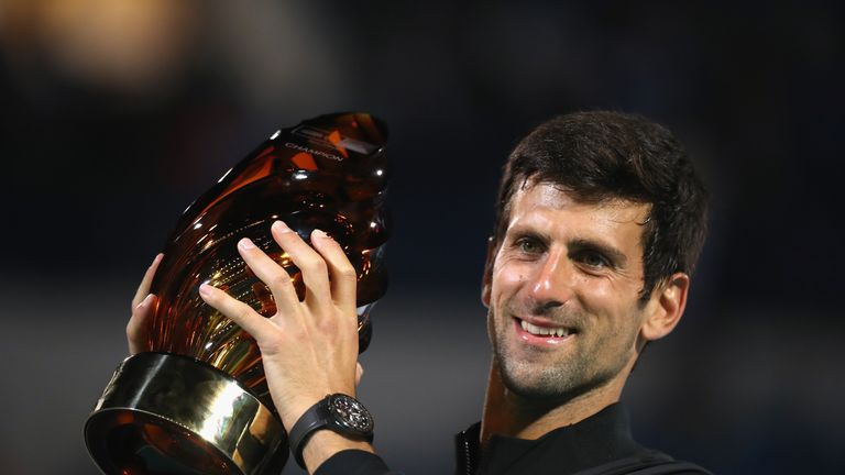 Djokovic won the pre-season exhibition Mubadala World Tennis Championship on Saturday