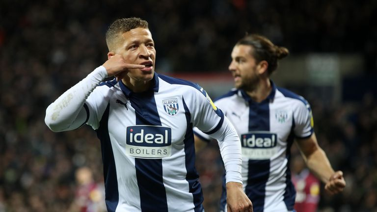 Dwight Gayle is set to  return for West Brom