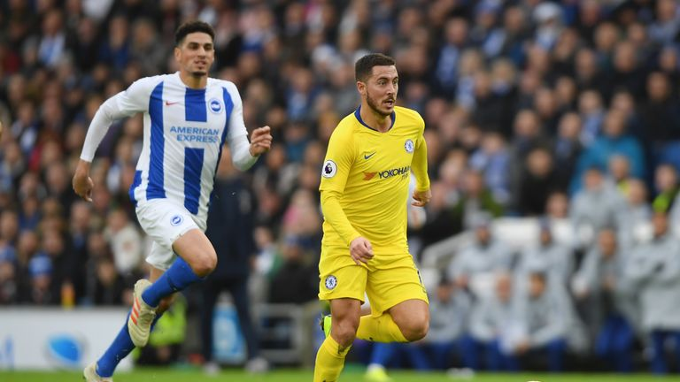 Hazard reveals Chelsea haven't given up hope of winning Premier League title
