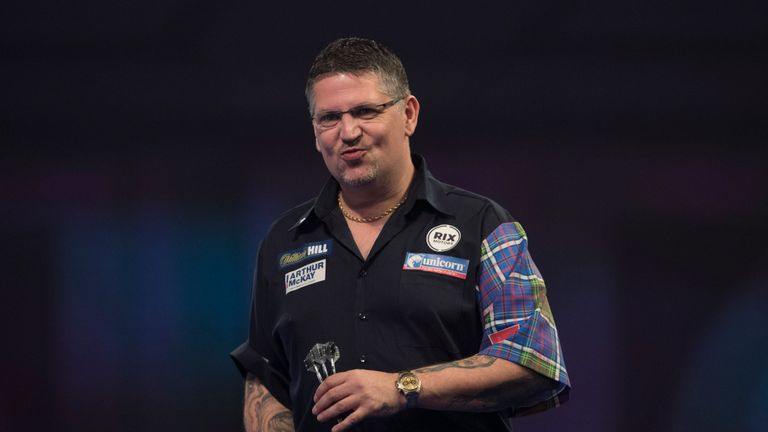 Gary Anderson will miss out on his first Premier League since 2010