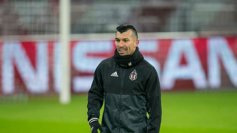Gary Medel currently plays for Besiktas