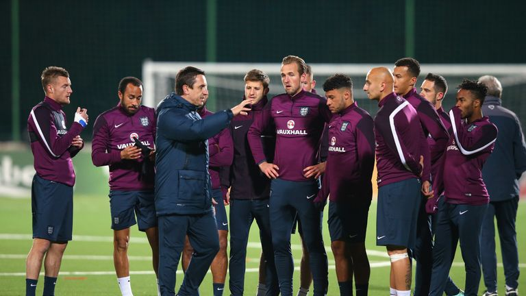 Neville coached Sterling during his time as an assistant to England manager Roy Hodgson