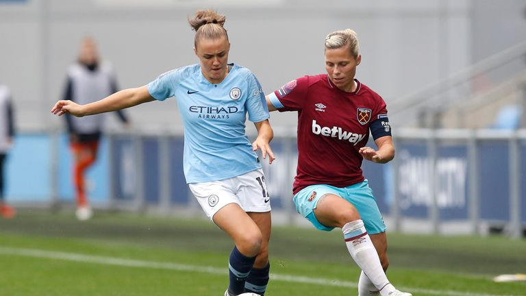 West Ham and England's Gilly Flaherty hails Rainbow Laces campaign   Football News  
