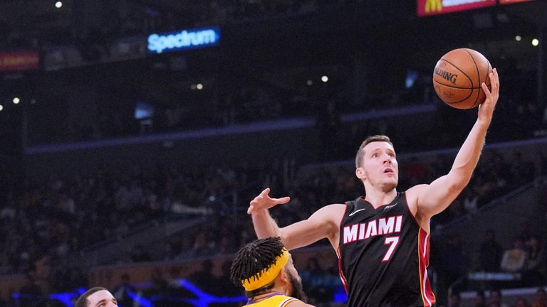 Goran Dragic last featured against the Los Angeles Lakers