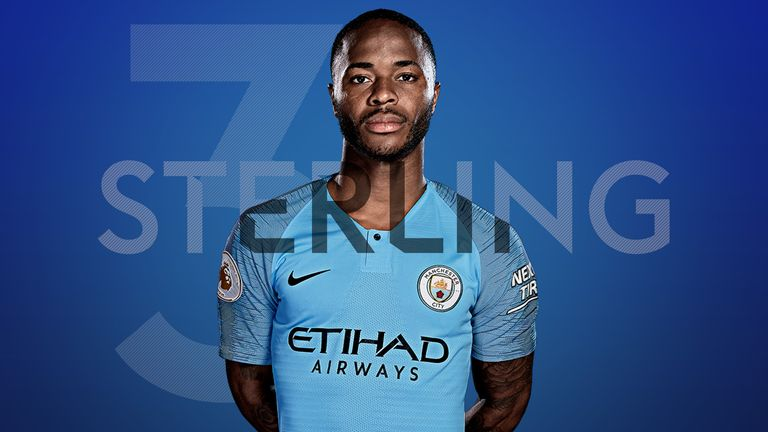 detailed pictures dd636 a130d Top 10 Premier League stars of 2018: Man City's Raheem ...