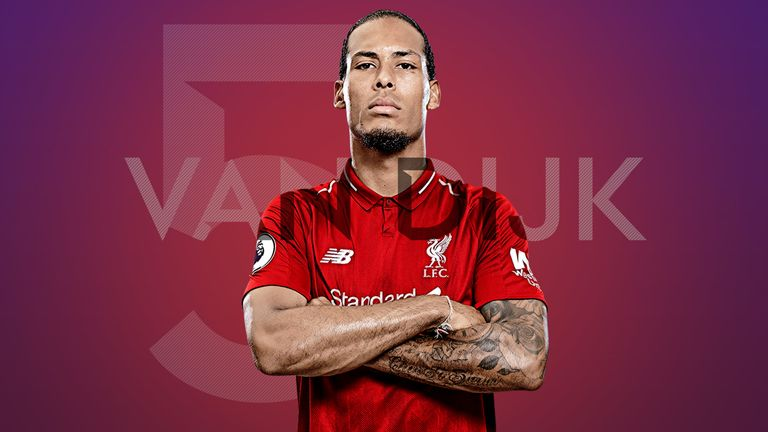 bf30e613f Liverpool s Virgil van Dijk is fifth in our countdown of the players of the  year