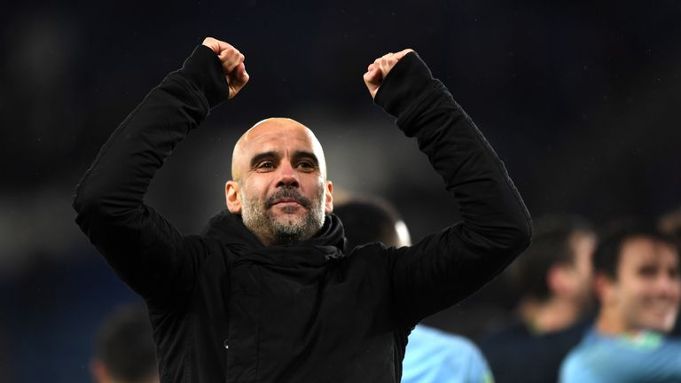 Guardiola's side beat Leicester on penalties to reach the Carabao Cup semi-finals