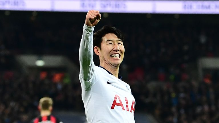 Heung-Min Son is the form man for Spurs at the moment