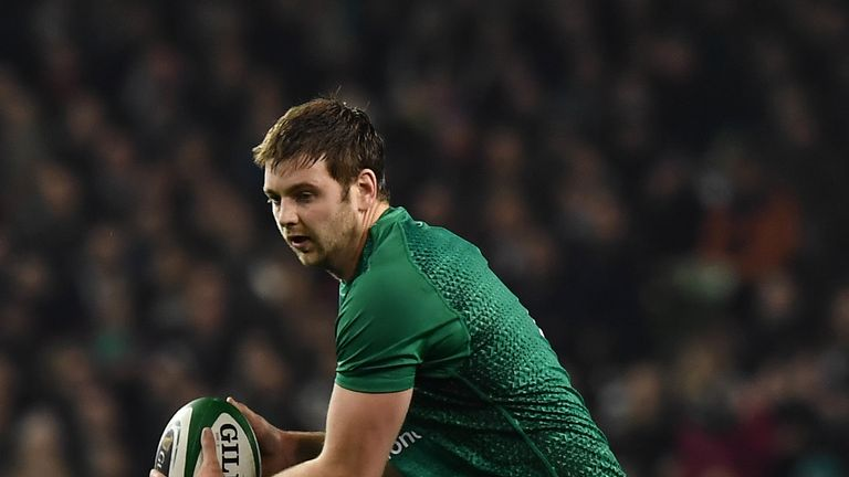 Ireland forward Iain Henderson set to miss majority of Six Nations