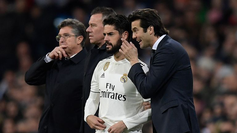 Isco reportedly does not feel trusted by new Real Madrid coach Santiago Solari