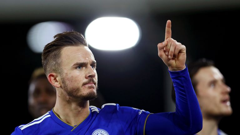 James Maddison's step up from the Championship has been seamless