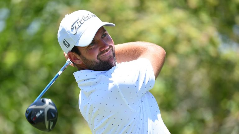 Scott Jamieson backed up Friday's six-under 66 with another strong round