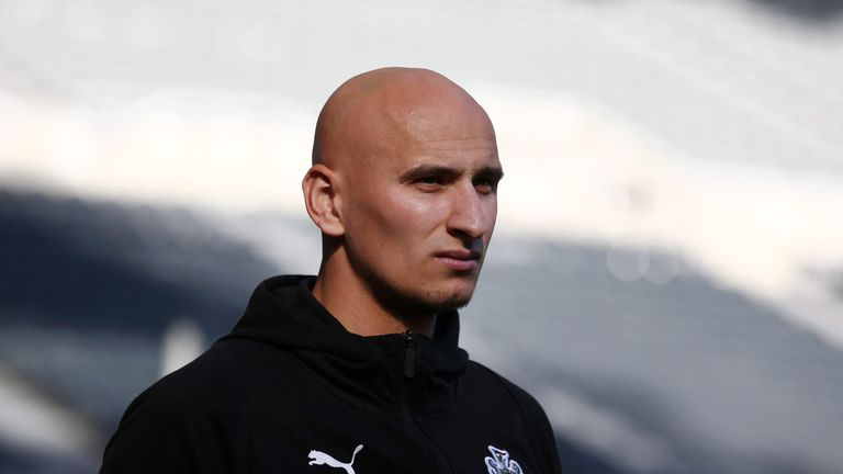 Jonjo Shelvey has not played since January 5 due to injury