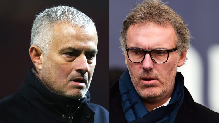 Laurent Blanc is being considered for an interim role following Jose Mourinho's departure